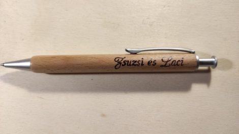 Fa toll - egyedi gravírozással - névre szóló