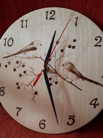 Falióra - Őszapó madarak grafikával