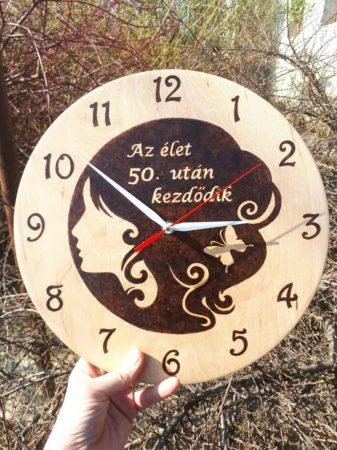 Fali óra - születésnapi ajándék