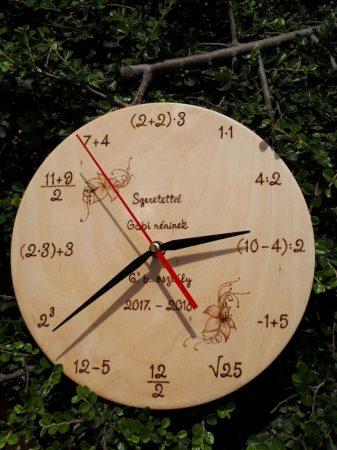 Fali óra - Matekot kedvelők számára - Matek tanár