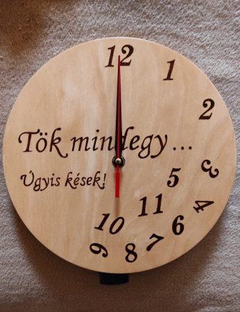 Falióra - Gyakran késők számára