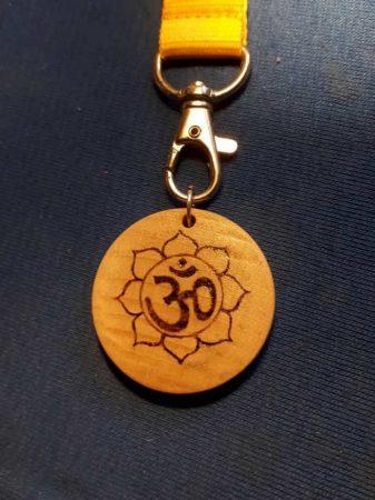 Kulcstartó - Lótusz szimbólummal
